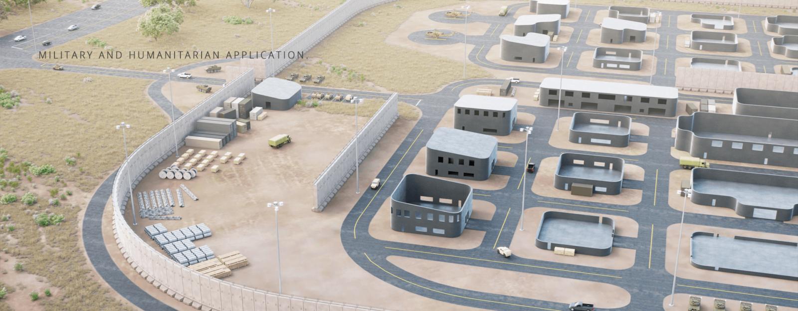 AMIDA 3D Military and Humanitarian Applications.